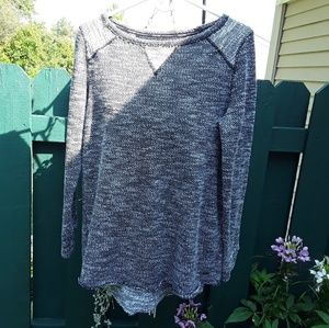 Calvin Klein Performance Quick Dry Marled Sweater